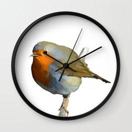 Red Robin Wall Clock