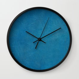 blue_logo Wall Clock