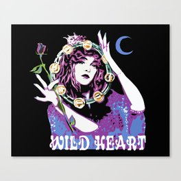 Blame It On My Wild Heart Canvas Print