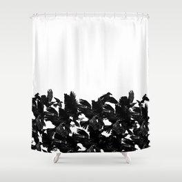 Flock Shower Curtain