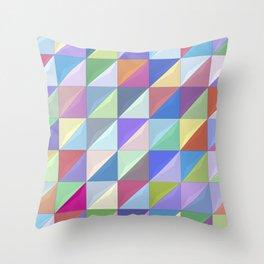 Geometric Shapes I Throw Pillow