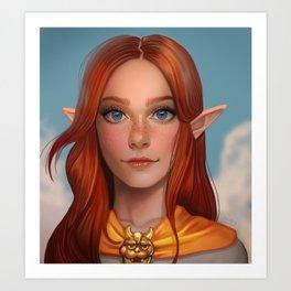Malon from Ocarina of Time Art Print