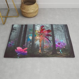 Divesity In The Forest Rug