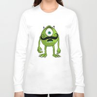 mike wrobel Long Sleeve T-shirts featuring Mike by Satanoncrack