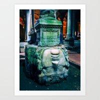 Medusa's Head // Istanbul, Turkey Art Print