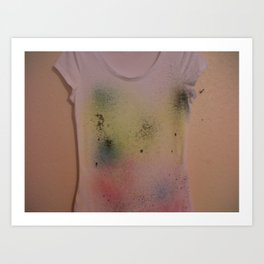 Cascada Bella Designs 'Simply Spray'. Art Print