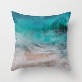 Reef Break Throw Pillow