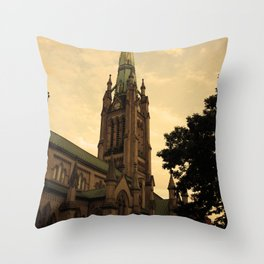 Cathedral Church of St. James Throw Pillow