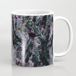 purple cactus Coffee Mug