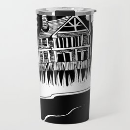 Mysterious Ghost Travel Mug
