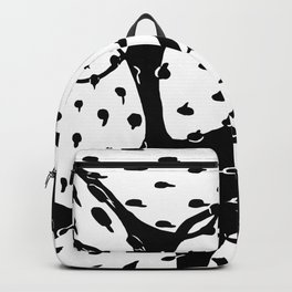 Prickly Pear B&W Backpack