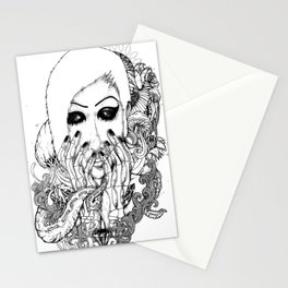 goth love Stationery Cards