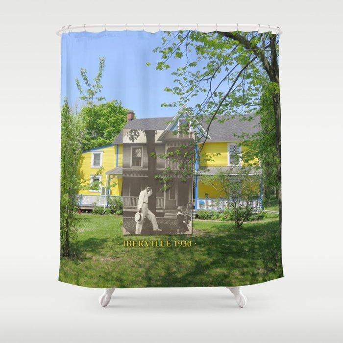 Iberville 1930 Shower Curtain
