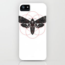 Sacred Death's-head Hawkmoth iPhone Case