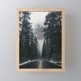 Forest Way Framed Mini Art Print