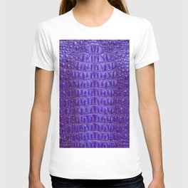 Deep Purple Crocodile T-shirt