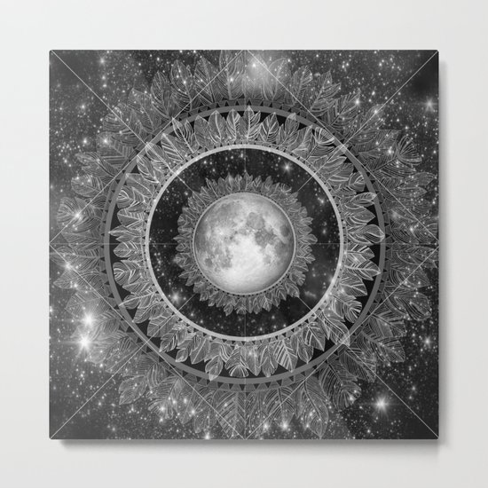 Major Tom (floating in my tin can, far above the Moon) Metal Print