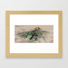 Medora Landscape Framed Art Print