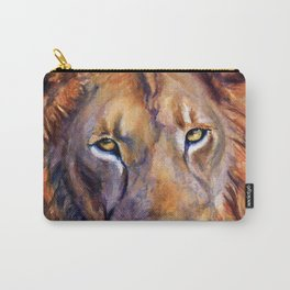 Lion Into The Light Carry-All Pouch