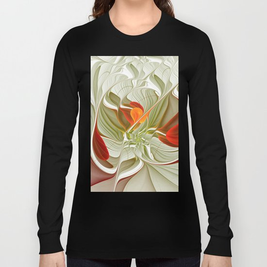 Fractal Art Bring Color Into Your Life Long Sleeve T-shirt