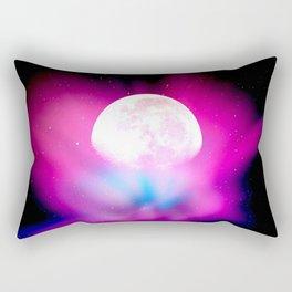 Nebula Moon Rectangular Pillow