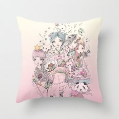 Festivas Throw Pillow