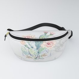 Prettiest Cactus Rose Marble by Nature Magick Fanny Pack
