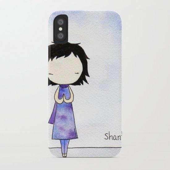 Shanti iPhone Case