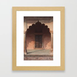 Mughal Colonnade Framed Art Print