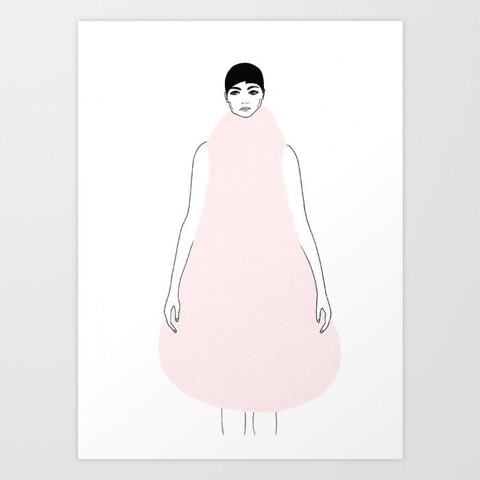 DRESSY Art Print
