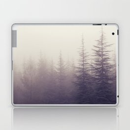 Abetos. Retro panoramic. Laptop & iPad Skin