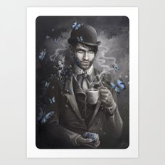 Morpho Art Print