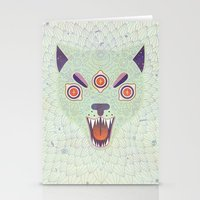cosmic Stationery Cards featuring Cosmic Cat by LordofMasks