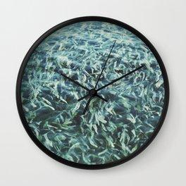 Water Garden Wall Clock