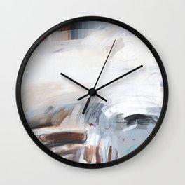 Grayscale Wall Clock