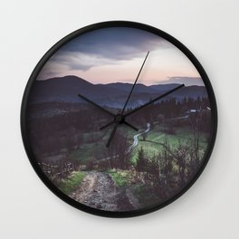 Perfect place Wall Clock
