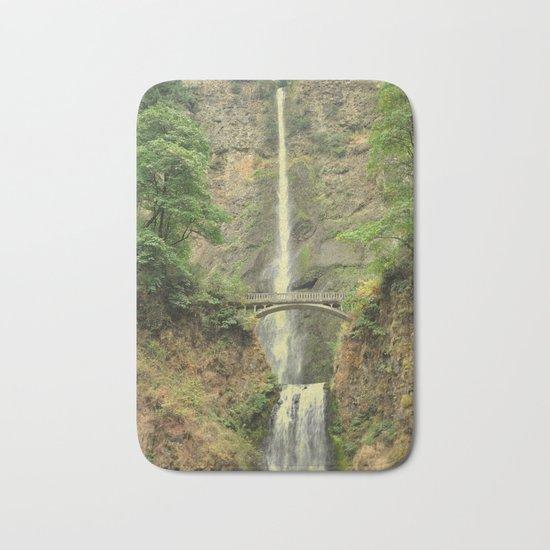 MULTNOMAH FALLS - OREGON Bath Mat