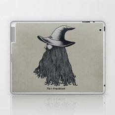 Grey Wizard Laptop & iPad Skin