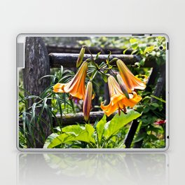 Orange Meadow Lillies Laptop & iPad Skin
