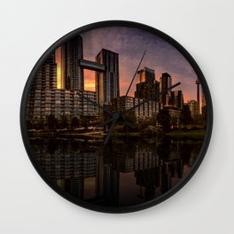 Condos Everywhere Wall Clock