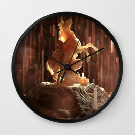 Ancestral Wall Clock