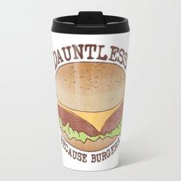 Dauntless - Because Burgers Travel Mug