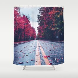 Colorful Way Shower Curtain