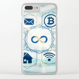 media technologies Clear iPhone Case