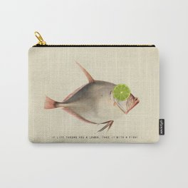 If Life Throws You a Lemon, Take It With a Fish Carry-All Pouch