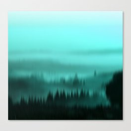 Teal Canvas Print