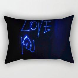 Ligth Painting Love You Rectangular Pillow
