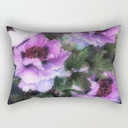 PEONIES IN BLOOM 03 Rectangular Pillow