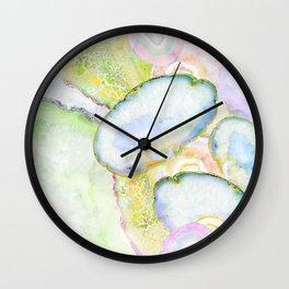 Agate Dreams I Wall Clock