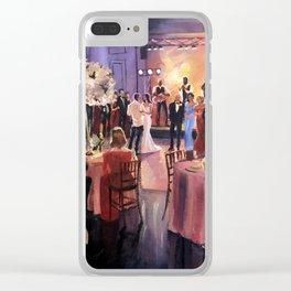 Fury Wedding NOLA Clear iPhone Case